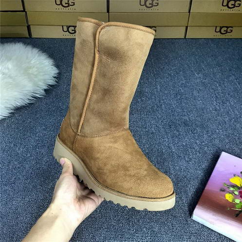 UGG 1013429 wedge heel Chesnut