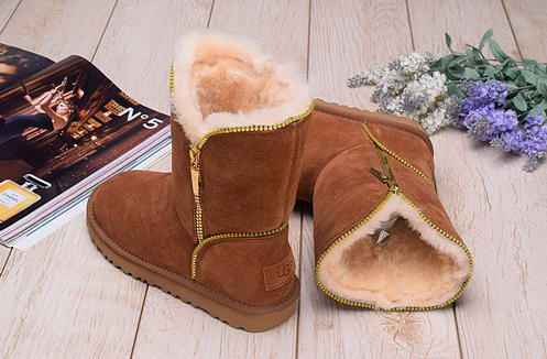 UGG 1013165 Side zipper Chesnut