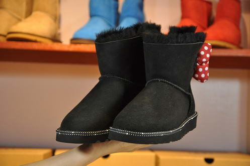 UGG Butterfly crus Disney cooperation1013391 Black