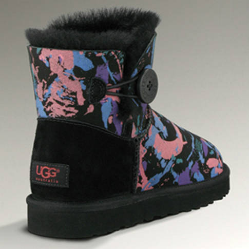 Classic Mini 100115 Ugg Boots - Camouflage Black