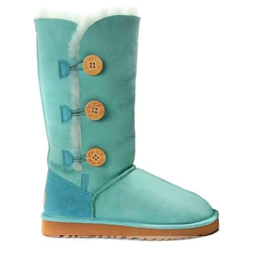 Bailey Button Triplet 1873 Ugg Boots - Aqua Blue