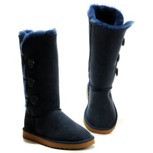 Bailey Button Triplet 1873 Ugg Boots - Azure