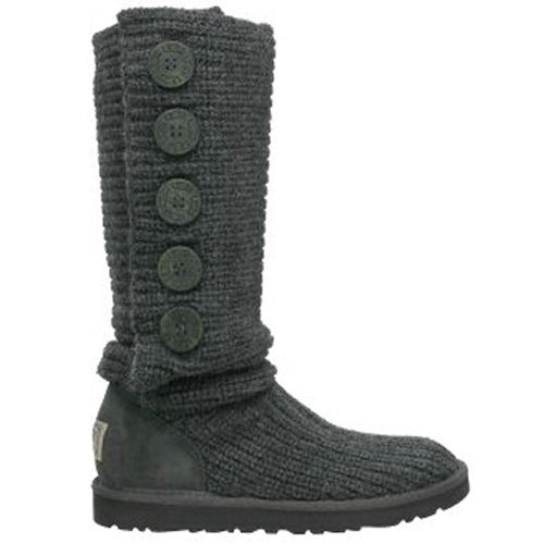 Cardy Tall Model 1878 Knit Ugg Boots - Gray