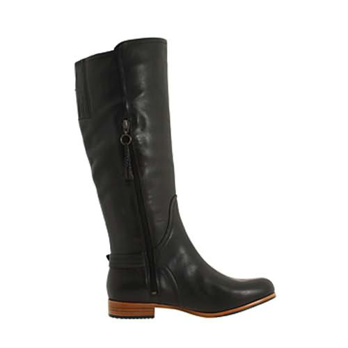 Amberlee Damen Stiefel 1921 Leather Ugg Boots - Black
