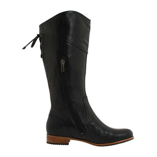 Annabelle 1923 Leather Ugg Boots - Black
