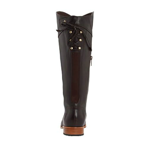 Annabelle 1923 Leather Ugg Boots - Chocolate