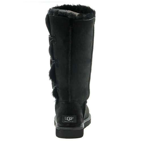 Kids Bailey Button Triplet 1962 Ugg Boots - Black