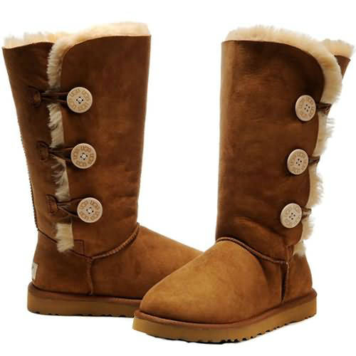 Kids Bailey Button Triplet 1962 Ugg Boots - Chestnut