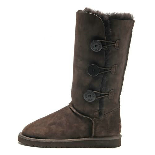 Kids Bailey Button Triplet 1962 Ugg Boots - Chocolate