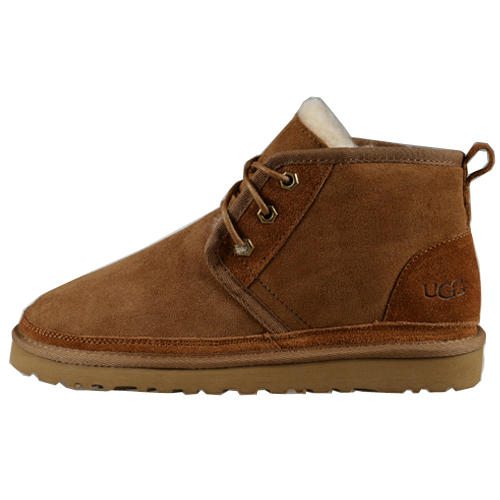 Mens Neumel 3236 Ugg Casual Shoes - Chestnut
