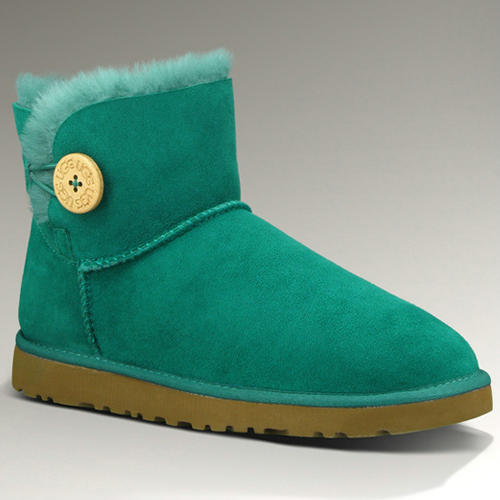 Bailey Button Mini 3352 Ugg Boots - Emerald
