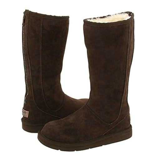 Knightsbridge 5119 Ugg Boots - Chocolate