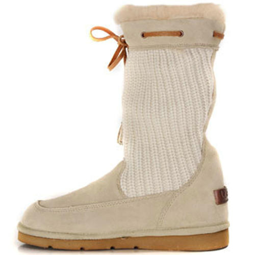 Surburb Crochet S/N 5124 Knit Ugg Boots - Sand