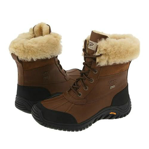 Adirondack II 5469 Leather Ugg Boots - Chestnut