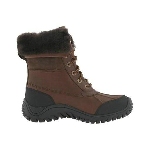 Adirondack II 5469 Leather Ugg Boots - Chocolate