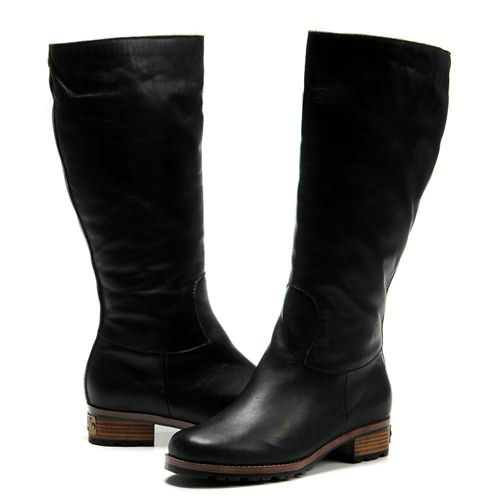 Broome Espresso 5511 Leather Ugg Boots - Black