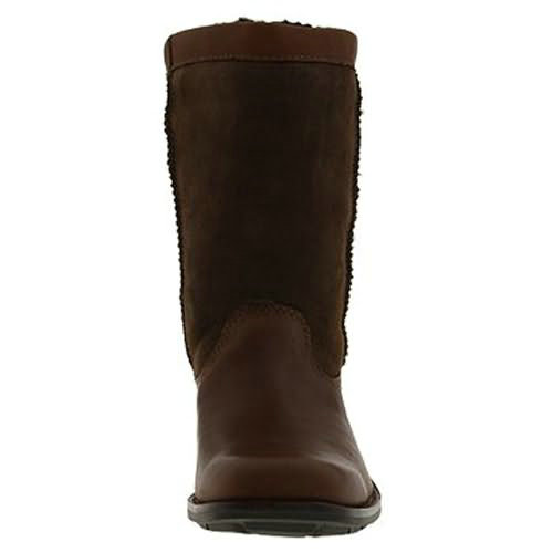 Brookfield 5592 Leather Ugg Boots - Coffee
