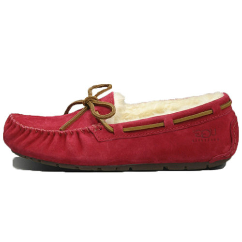 Dakota Tobacco SN 5612 Ugg Flats - Red