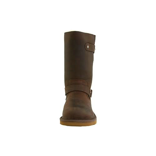 Kensington S N Model 5678 Leather Ugg Boots - Toast