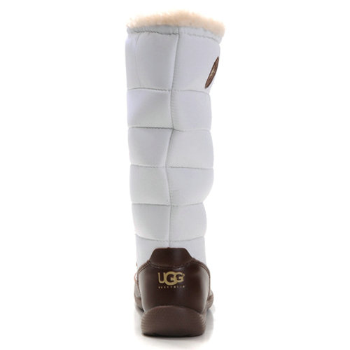 Dauphine 5741 Leather Ugg Boots - White