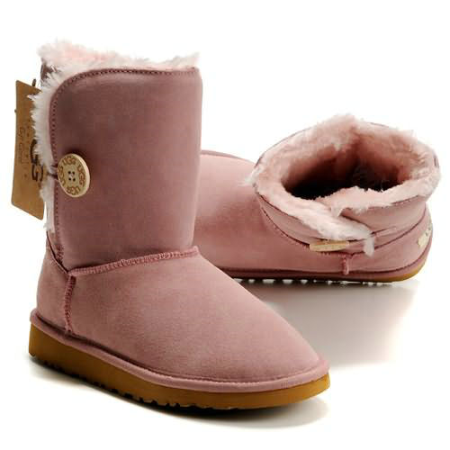 Bailey Button 5803 Ugg Boots - Pink