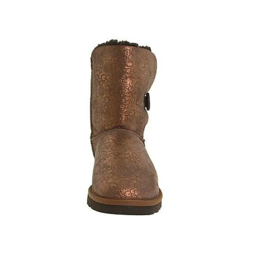 Bailey Button Fancy 5809 Metalic Ugg Boots - Chocolate