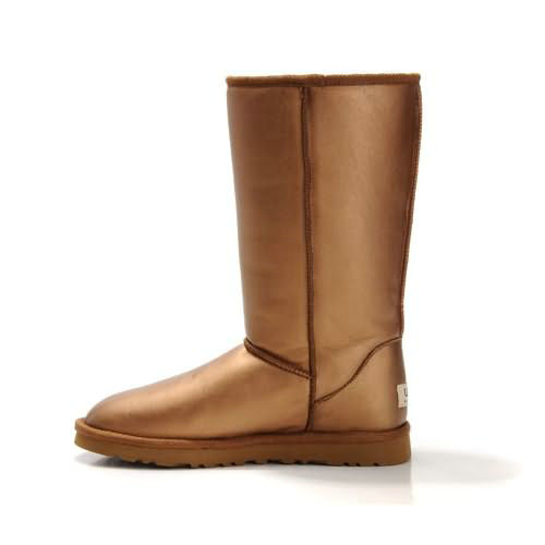 Classic Tall 5812 Metallic Ugg Boots - Gold