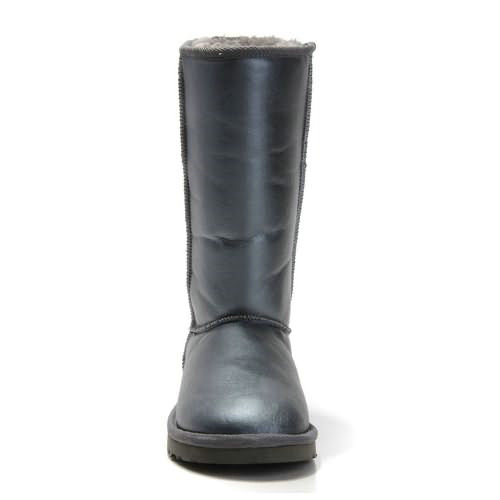 Classic Tall 5812 Metallic Ugg Boots - Gray