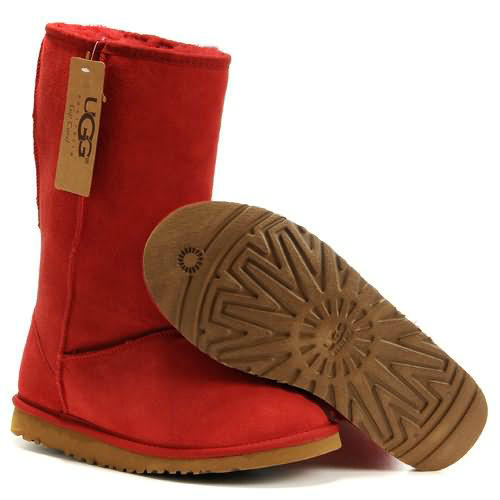 Classic Tall 5815 Ugg Boots - Red