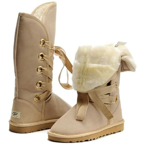 Roxy Tall 5818 Ugg Boots - Sand
