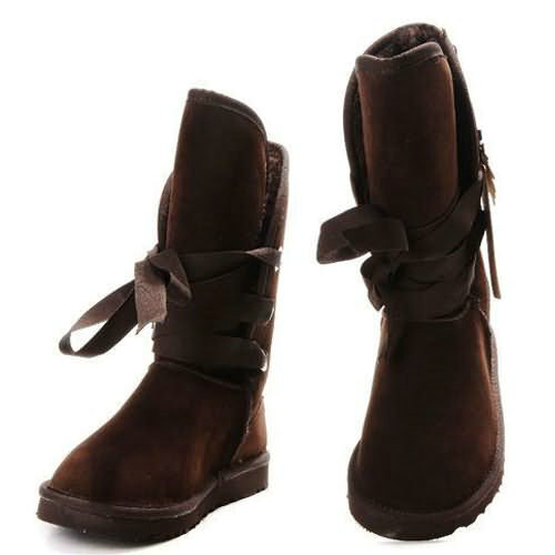Roxy Short 5828 Style Ugg Boots - Chocolate