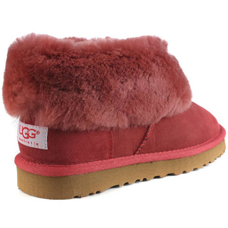 Classic Mini 5845 Essential Ugg Boots - Brick Red