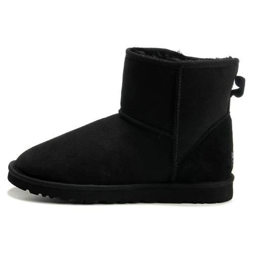Mens Classic Mini 5854 Style Ugg Boots - Black