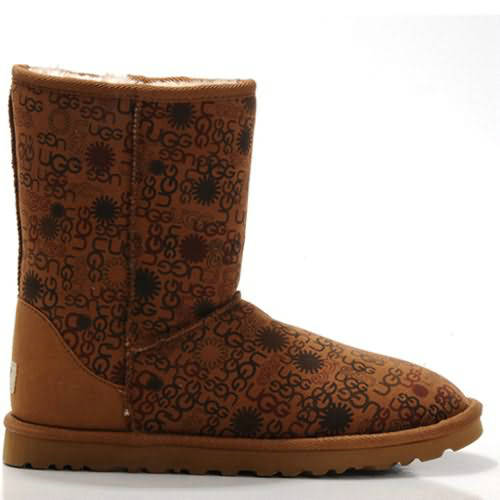 Fancy 5875 Ugg Boots - Chestnut