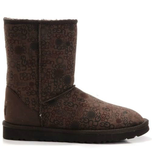 Fancy 5875 Ugg Boots - Chocolate