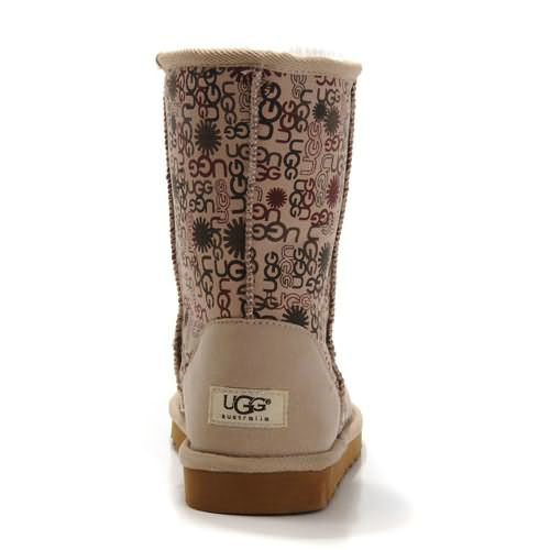 Fancy 5875 Ugg Boots - Sand