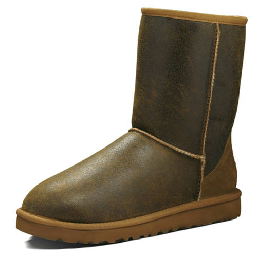 Classic Short Bomber S/N 5984 Ugg Boots - Brown