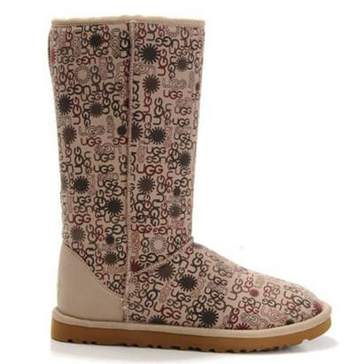 Fancy 5998 Ugg Boots - Sand Daisy