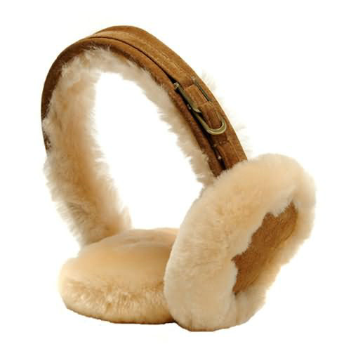 Mens Ugg Earmuffs - Chestnut