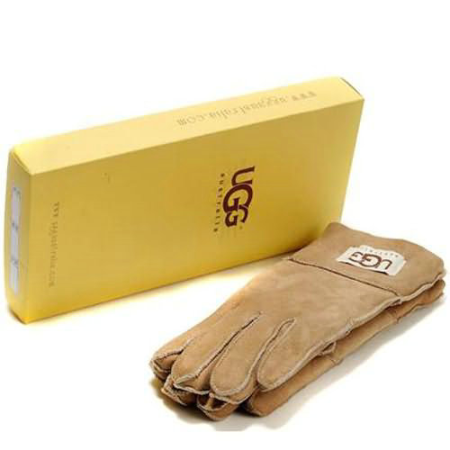 Mens Ugg Gloves - Sand